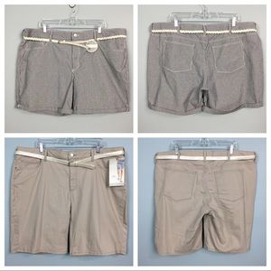Bundle of 2 Pairs Riders by Lee Shorts